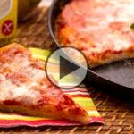 Pizza dietetica fatta in casa, ricetta light