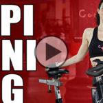 Spinning brucia calorie a casa, cyclette a tempo di musica