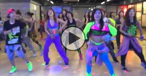zumba let's get loud jennifer lopez