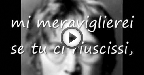 john lennon imagine significato