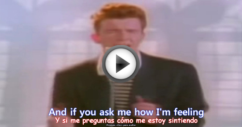 never gonna give you up rick astley