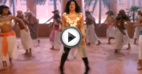 walk like an egyptian ballo